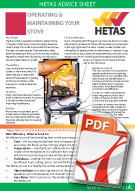 hetas-stove-operating