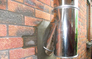 Twin-Flue-Installation